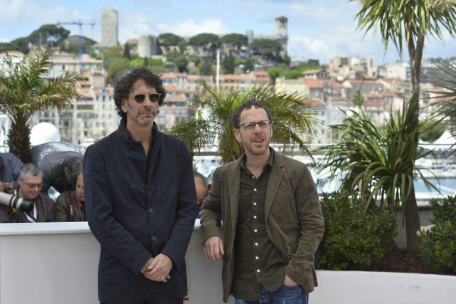 Joel et Ethan Coen à Cannes en 2013.... (Photo: archives AFP)