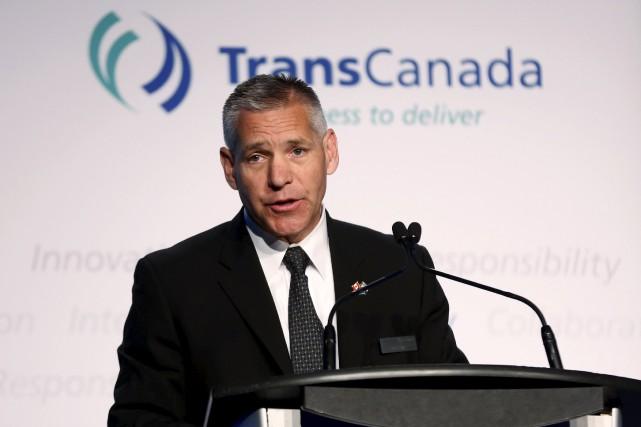 Le PDG de TransCanada,Russ Girling... (PHOTO ARCHIVES REUTERS)