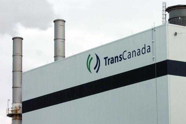 La centrale au gaz naturel de TransCanada située... (Photo: François Gervais)