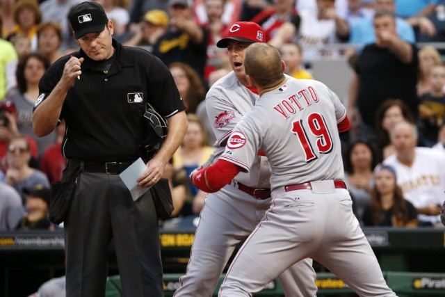 Joey Votto... (Photo Gene J. Puskar, AP)