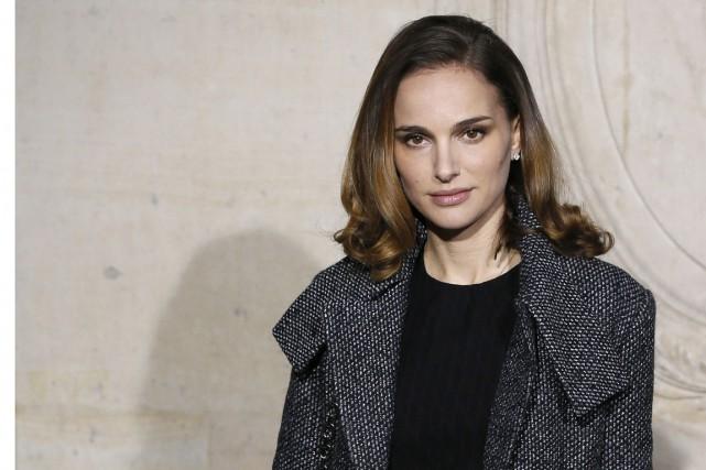 L'actrice israélo-américaine Natalie Portman, à Paris, lors d'un... (Photo Patrick Kovarik, archives AFP)
