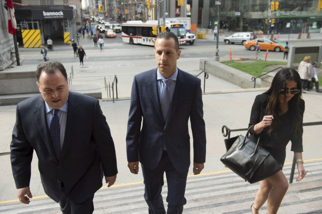 L'ancien chauffeur de Rob Ford, Sandro Lisi (au... (Photo Frank Gunn, PC)