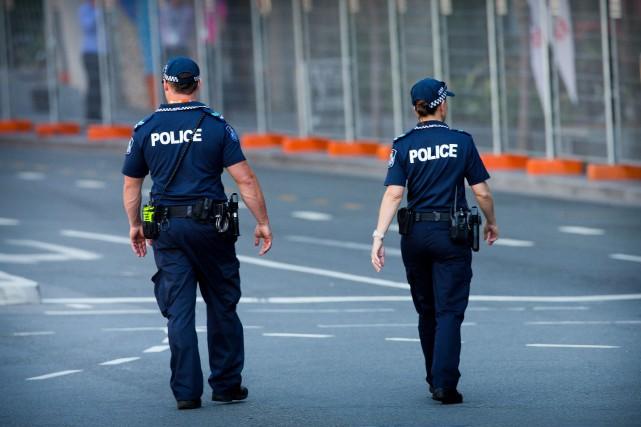 La police en Australie a arrêté un jeune de 17 ans soupçonné d'un complot ayant... (PHOTO ARCHIVES AFP)