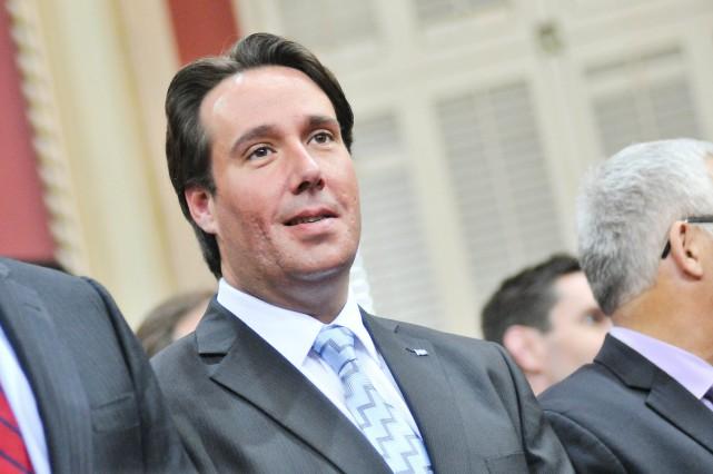 Le député de Maskinongé, Marc H. Plante, demande... (PHOTO: SYLVAIN MAYER)