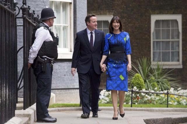 La stratégie de David Cameron (ici avec son... (POOL)