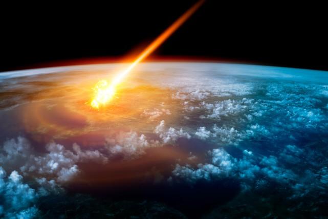 Une météorite se serait abattue sur le nord... (Illustration Shutterstock, solarseven)