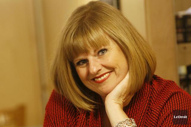 Chantale Richer a fait carrière dans la radio... (Simon Séguin-Bertrand, LeDroit)