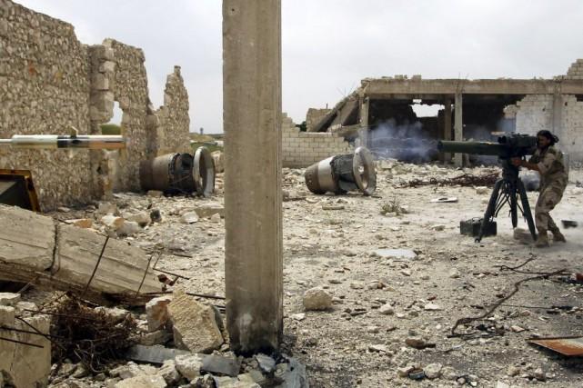 À Alep, cinq civils ont été tués et... (Photo Rami Zayat, archives REUTERS)