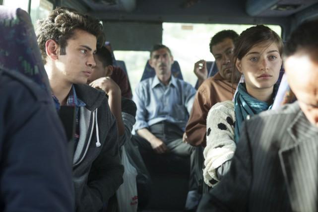 Un élève arabe et une camarade de classe... (Photo fournie par Strand Releasing/Métropole)