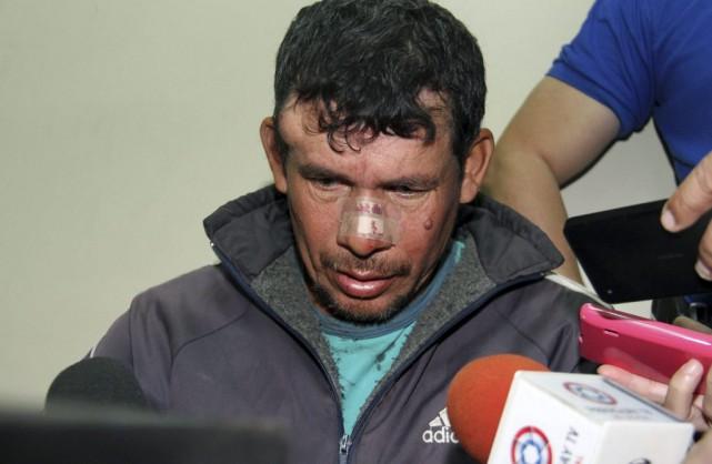 Le violeurprésumé,Gilberto Benitez Zarate,risque jusqu'à 15 ans de... (PHOTO NORBERTO DUARTE, AFP)