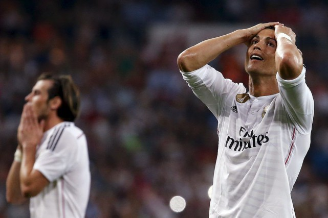 Cristiano Ronaldo a raté un penalty dans les... (PHOTO PAUL HANNA, REUTERS)