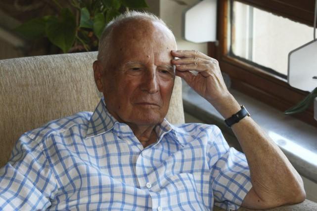 Kenan Evren étaitâgé de 97 ans.... (PHOTO ADEM ALTAN, AFP)