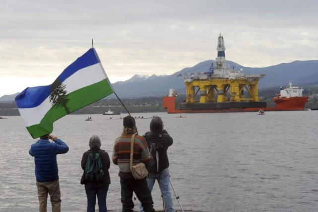 Shell s'est réjouie de ce dénouement. Greenpeace a... (Photo KEITH THORPE, archives AP)