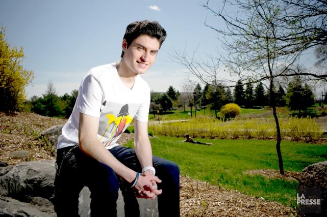 David Thibault prépare son premier album, qui contiendra... (La Presse, David Boily)