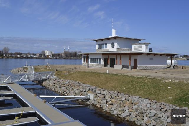 Avec le réaménagement de la marina, la ville... ((Photo Le Quotidien Louis Potvin))