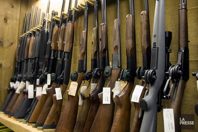 Un projet de loi visant à modifier le système de contrôle des armes à feu a... (Photo André Pichette, archives La Presse)