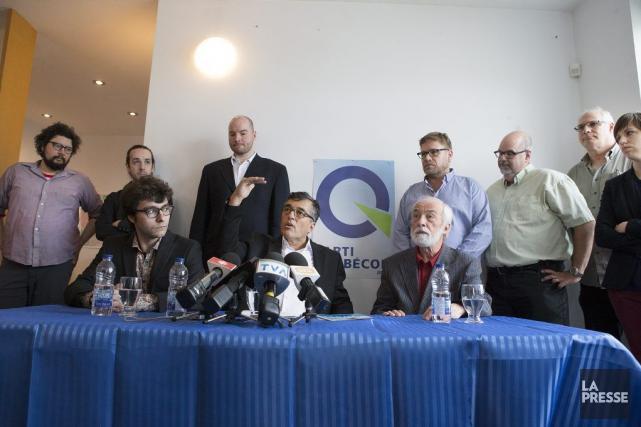 Pierre Cérédit se retirer par manque de moyens... (Photo Robert Skinner, La Presse)
