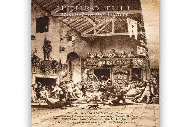 Minstrel in The Gallery : Jethro Tull...