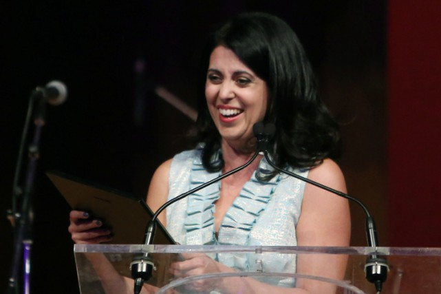 La journaliste Jennifer Ditchburn a remporté le prix... (Photo: PC)