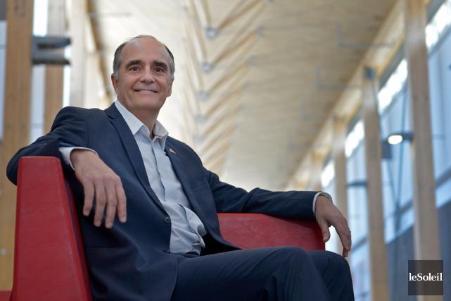 Ex-joueur de volleyball à l'Université Laval, ex-entraîneur des... (Le Soleil, Yan Doublet)