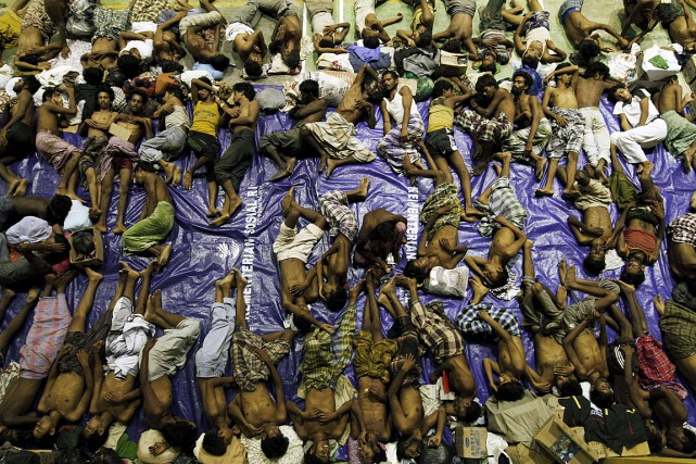 Les Rohingyas de Birmanie sont une minorité musulmane... (Photo Roni Bintang, Reuters)
