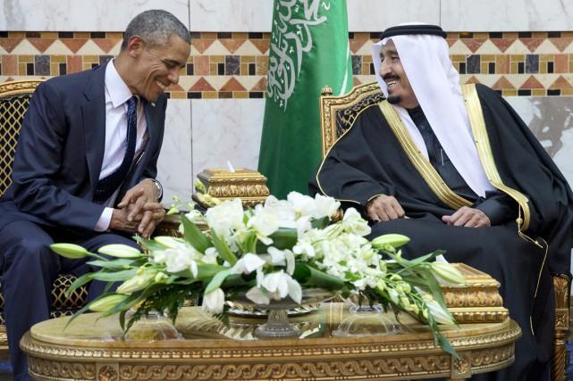 Le président américain a été reçu par le... (PHOTO CAROLYN KASTER-FILE, ARCHIVES AP)