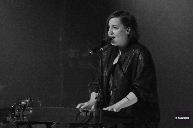 Le plus souvent derrière son clavier pour présenter... (Photo: Émilie O'Connor, Le Nouvelliste)