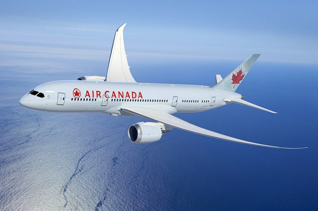 Plus tôt cette semaine, le site internet du transporteur aérien Air Canada... (Photo archives Air Canada)