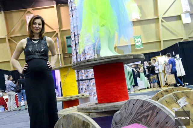L'organisatrice du 3e Salon de la mode, Sabrina... (Imacom, Julien Chamberland)