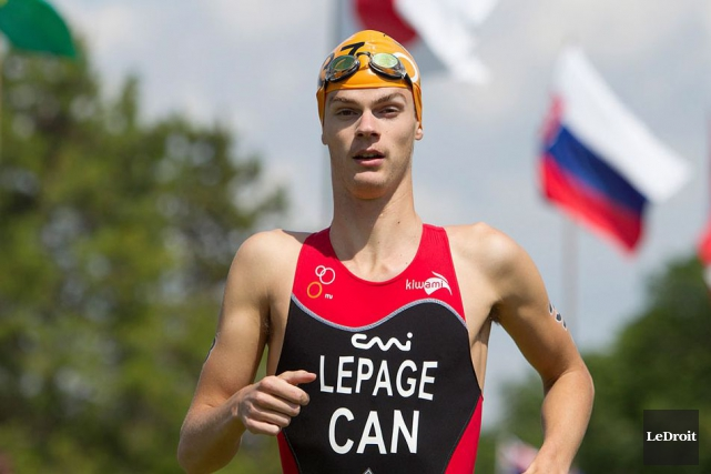 Le triathlète Alexis Lepage.... (Archives, LeDroit)