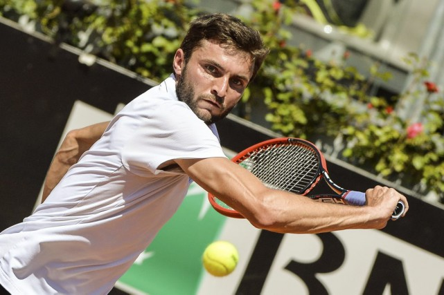 Gilles Simon... (Photo Andreas Solaro, AFP)
