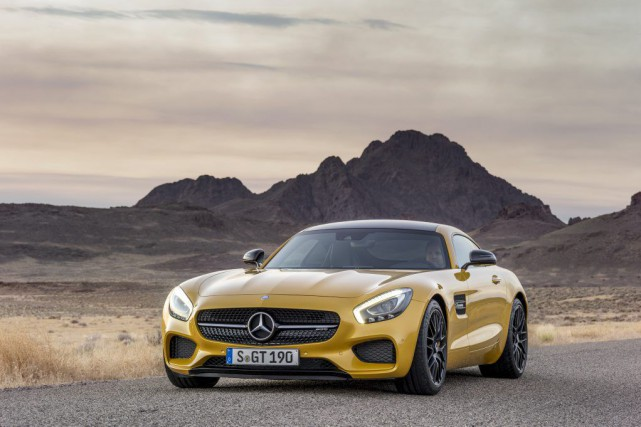 La Mercedes AMG GT... (PHOTO FOURNIE PAR MERCEDES)