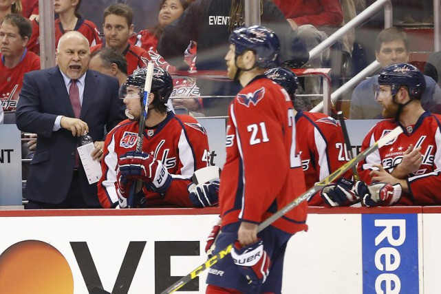 L'entraîneur-chef des Capitals, Barry Trotz, n'a aucun problème... (PHOTO GEOFF BURKE, USA TODAY Sports)