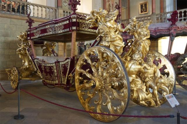 Le musée portugais des carrosses, collection unique qui attendait depuis fin...