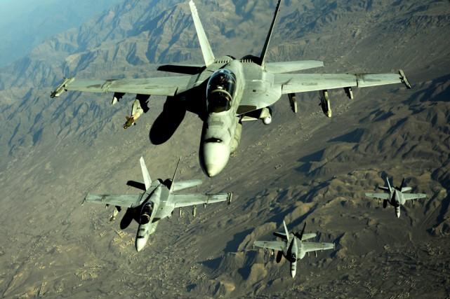 En 2014, les États-Unis ont englouti 610 milliards... (Photo: US. Air Force)