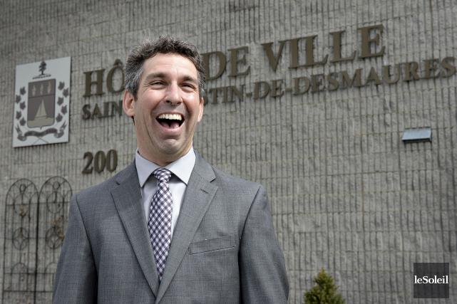 Le candidat à la mairie de Saint-Augustin Jean-François... (Le Soleil, Patrice Laroche)