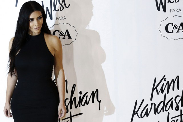 Kim Kardashian... (Photo: AFP)