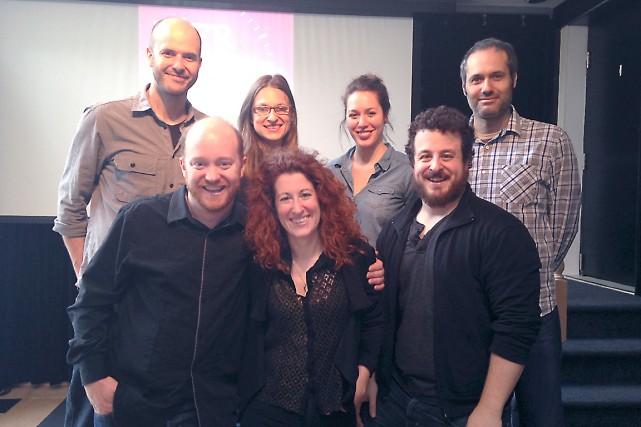 Emmanuel Bédard, Marie-Hélène Lalande, Claude Breton-Potvin et Jean-Sébastien... (Photo fournie par la salle Albert-Rousseau)