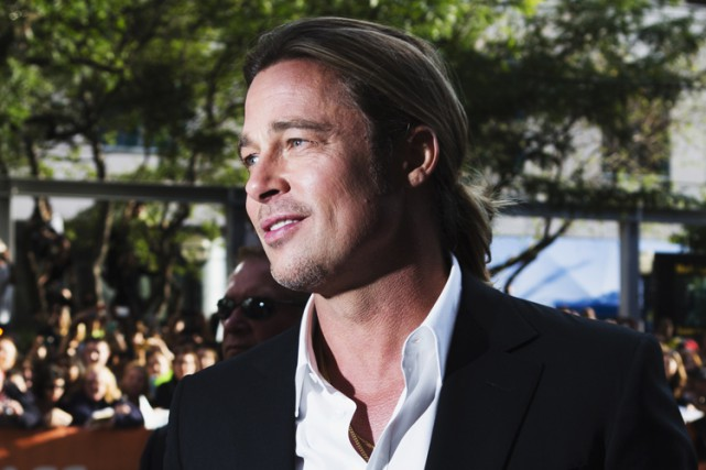 Brad Pitt... (Archives Reuters)