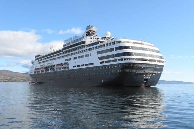 Le Maasdam est l'un des navires qui sillonneront... (Collaboration spéciale Geneviève Gélinas)