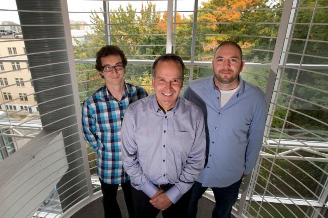 Les trois chercheurs du Centre sur la productivité... (PHOTO IVANOH DEMERS, ARCHIVES LA PRESSE)