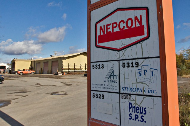 L'entreprise lavalloise de construction Nepcon.... (PHOTO PATRICK SANFAÇON, LA PRESSE)