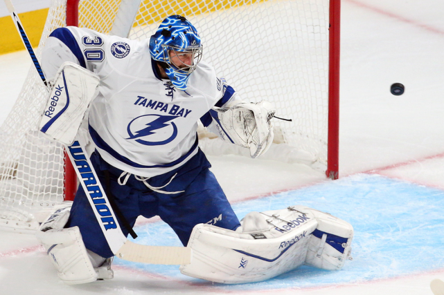 Le style plutôt imprévisible de Ben Bishop passe... (Photo Jean-Yves Ahern, USA Today)