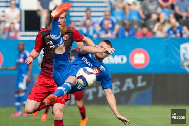 L'Impact doit rapidement remporter une première victoire dans... (Photo Robert Skinner, La Presse)