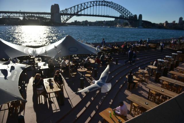En Australie, le phénomène se traduit généralement par... (PHOTO PETER PARKS, AFP)