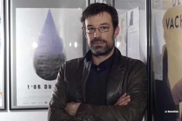 Le réalisateur Ian Jaquier... (Photo: Sylvain Mayer, Le Nouvelliste)