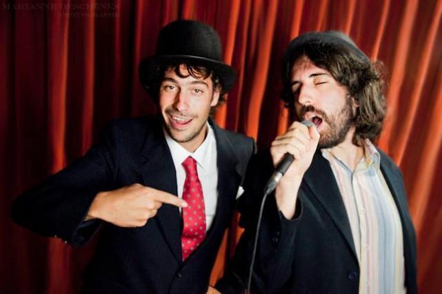 Mathieu Proulx et Jean-François Vachon coaniment les Cabarets... (Photo fournie)
