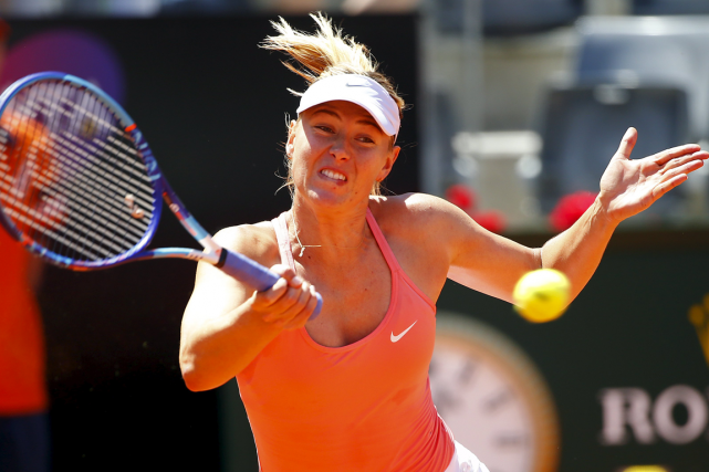 Maria Sharapova... (Photo Tony Gentile, Reuters)