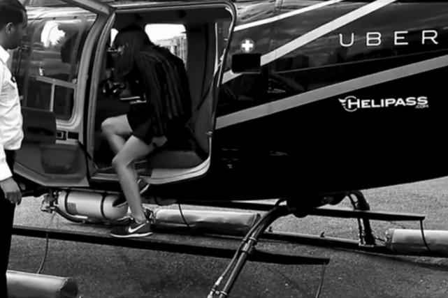 Après les voitures de transport avec chauffeurs (VTC), la société américaine... (Image: tirée de YouTube)