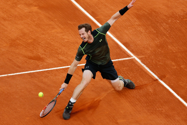 Andy Murraya vaincu Rafael Nadal dimanche en finale... (Photo Daniel Ochoa de Olza, AP)